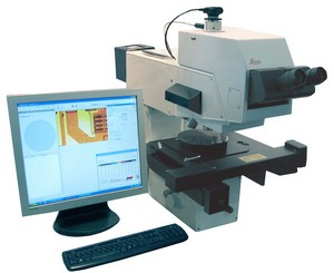 MCS-TF automatic Thinfilm measurement and mapping system with microscope, robot wafer-handling option